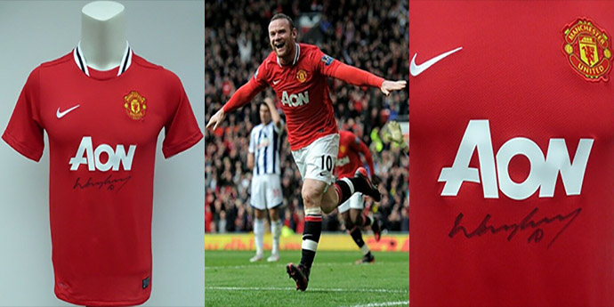 Win A Wayne Rooney Signed Shirt - FREE To Enter Contest - Man United Online